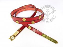011N Medieval belt with mounts