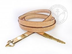 020W Medieval stamped belt - On Stock