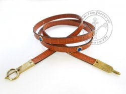 "022N Medieval belt ""From London"""