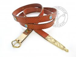 027N Medieval belt for 14 - 15th century