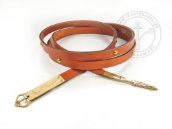 039N Medieval belt - with mounts - On Stock