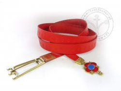 039W Medallion medieval belt - 14-15th cent. - On Stock