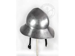 AH-03B Medieval helmet - kettle hat with lining - ready to battle