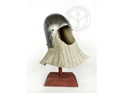 AH-09B Medieval helmet - Bascinet - with lining - ready to battle