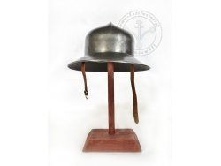 AH-13 15th cent. helmet - kettle hat with lining - ready to battle - On Stock