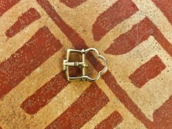 B-054 Small double buckle for garters or shoes