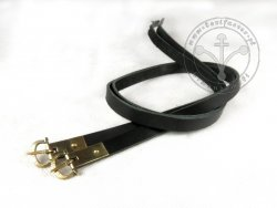 G-014.01M Leather garters - On Stock
