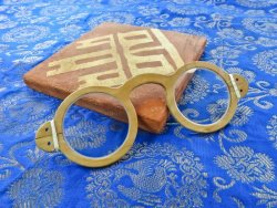 "GL-01 Medieval glasses ""+"" CONVEX"