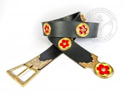 "KB 060 Knight belt ""Voit von Rieneck"" - On Stock"