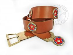 "KB 066 Knight belt ""Voit von Rieneck"" - On Stock"