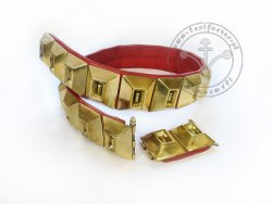 KB 067 Knight Belt with segmental mounts - On Stock