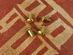 R-46 Brass rivet 5x10 mm
