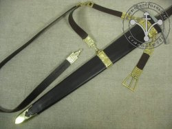 SC-04 Sword belt & Scabbard for 14-15th cent.