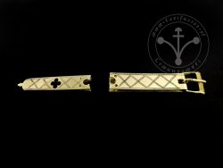 St-03 Buckle and strapend set for 14th cent.