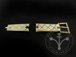 St-10 Buckle and strapend set for 14th-15th cent.