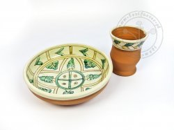 Z-11 Sgraffito pottery set
