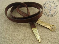 206C Stamped belt  for 14 - 15th century