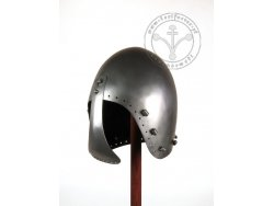AH-14R Medieval helmet - Bascinet with visor - for order