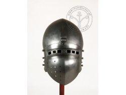 "AH-15S.20 Medieval helmet - Klappenvisier ""Berlin"" - 71cm - ON STOCK"