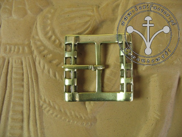 Buckle set of 2 medieval small