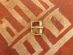 B-117 Rectangular belt buckle - 14th cent.