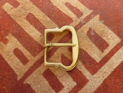B-152 D-shaped belt buckle from Gdansk 2,5 / 3 cm