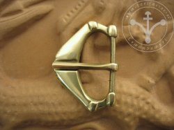 B-233 A triangular belt buckle