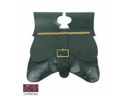 PS-44 Medieval Purse 14-15th cent. - black