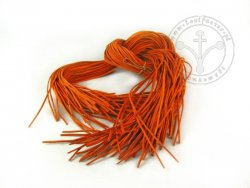 R-85 Leather strap - thin - orange