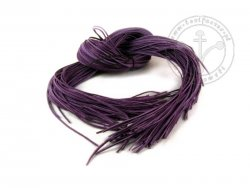 R-86 Leather strap - thin - violet