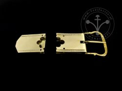 St-18 Buckle and strapend set for 14th-15th cent.